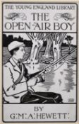 "James Allan Duncan (act.1894-1907) British. ""The Open-Air Boy"", Pen and Ink, Signed with Initials,"