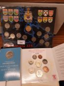 Collection Of Mint Coins to Include Canadian and British.
