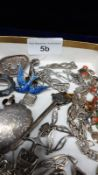 Large Selection Of Silver Jewellery Etc to Include Scottish Celtic Jewellery