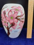 Moorcroft Vase Apple Blossom Ltd Edition Signed