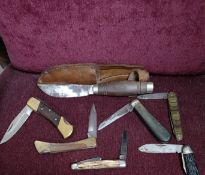 Quality collection of pocket knifes.