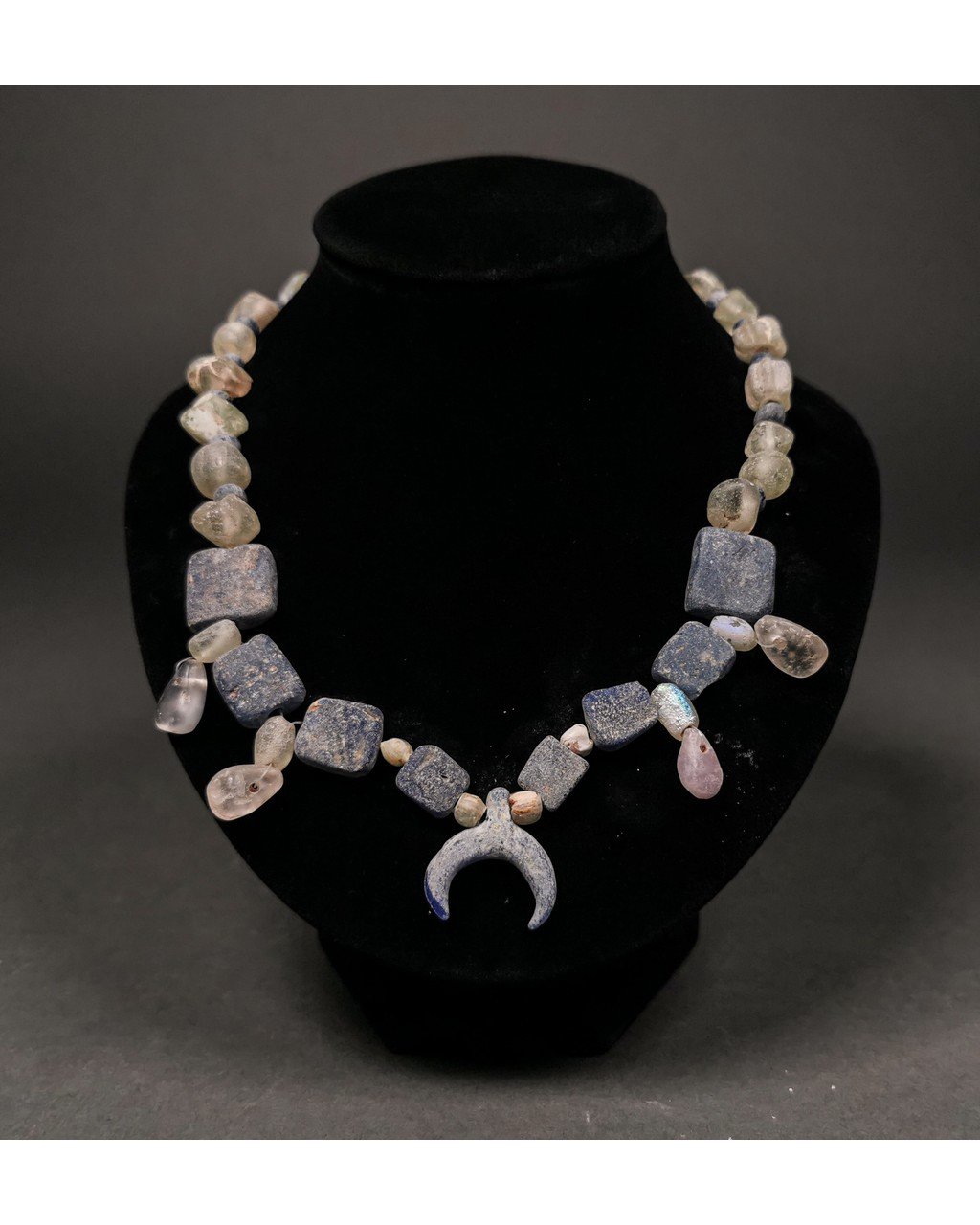 Lot 13 - VIKING BEADED NECKLACE WITH LUNAR