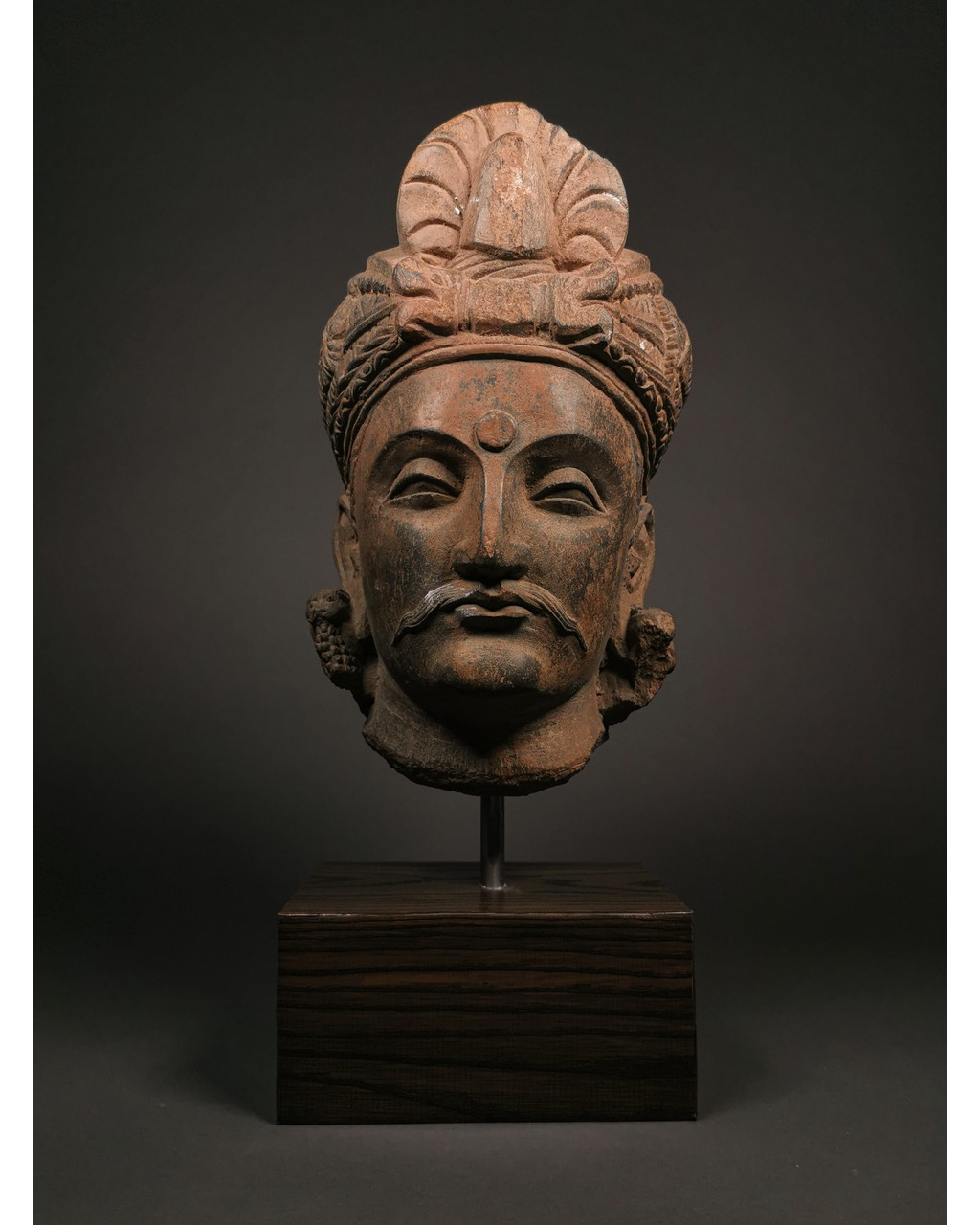 Lot 396 - SUPERB GANDHARA HEAD OF BUDDHA
