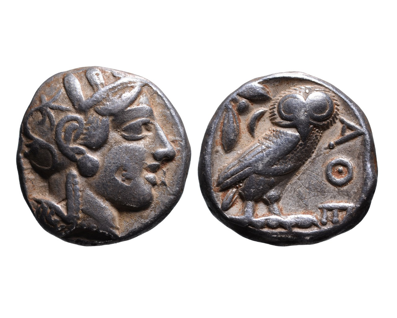 Ancient Greek AR tetradrachm Athens