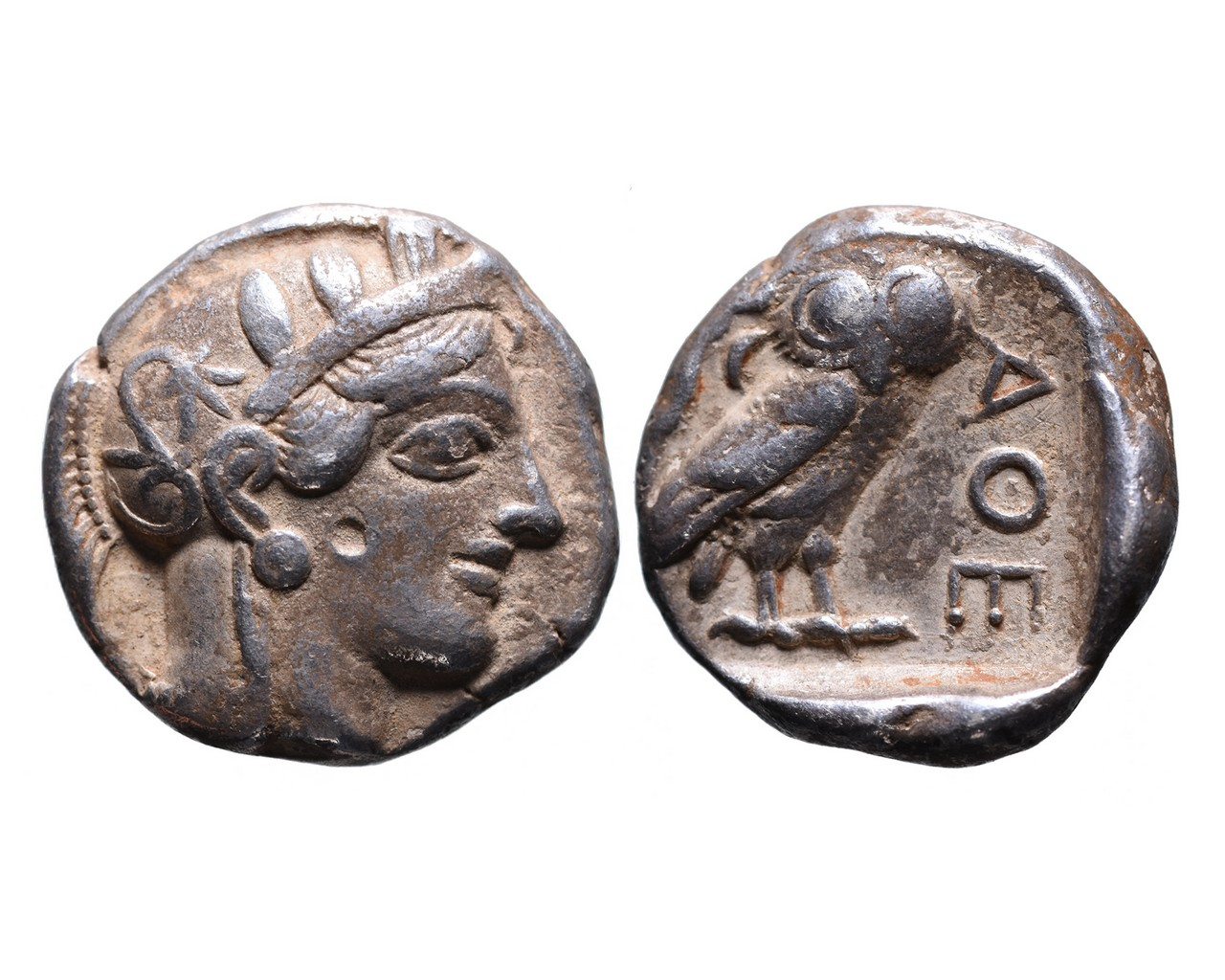 Ancient Greek AR tetradrachm Athens