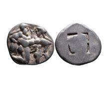 Ancient Greek AR stater Thasos