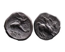 Ancient Greek AR didrachm Tarent