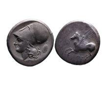 Ancient Greek AR stater Argos Amphilochikon