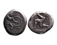 Ancient Greek AR stater Aspendos