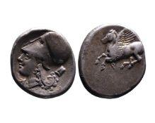 Ancient Greek AR stater Corinth