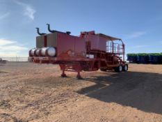 Located in YARD 1 - Midland, TX (2439) (X) 2006 FAMMCO DBL CEMENT PUMPER W/ (2) SPM TWS6C0S