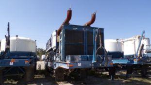 Located in YARD 19 - Wixon Valley, TX (CPF022) (X) 2005 KALYN SIEBERT T/A DBL PUMP CEMENT TRAILER,