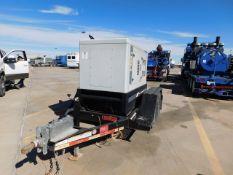 Located in YARD 2 - Odessa, TX (FUF344) (X) 2018 HIPOWER 26 KVA ENCLOSED ELECTRIC GENERATOR, P/B 4