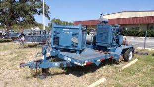 Located in YARD 19 - Wixon Valley, TX (FUF270) (X) 2011 AMERI TRAILER 7' X 16' T/A BP COMPRESSOR