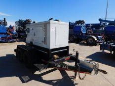 Located in YARD 2 - Odessa, TX (FUF345) (X) 2018 HIPOWER 26 KVA ENCLOSED ELECTRIC GENERATOR, P/B 4