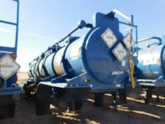 Located in YARD 2 - Odessa, TX (ATF014) (X) 2013 OVERLAND TANK 5000 GAL (3) COMPARTMENT T/A ACID