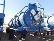 Located in YARD 2 - Odessa, TX (ATF025) (X) 2012 OVERLAND TANK 5000 GAL (3) COMPARTMENT ACID