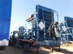 Located in YARD 2 - Odessa, TX (APF007) (X) 2012 SPM QWS1000S QUINTUPLEX ACID PUMP, P/B CUMMINS 6