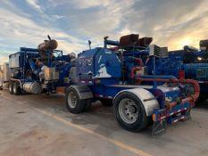 Located in YARD 2 - Odessa, TX (FPF073) 2012 SPM TWS2400 TRIPLEX FRAC PUMP, P/B CUMMINS QSK50 DIESEL
