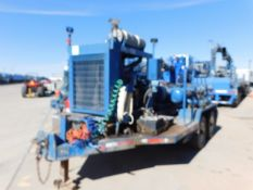 Located in YARD 2 - Odessa, TX (FPS026) (X) 2012 ORS CENT BOOST PUMP TRAILER, VIN-