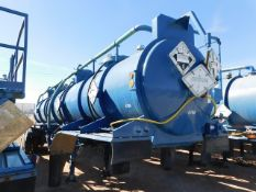 Located in YARD 2 - Odessa, TX (ATF023) (X) 2012 OVERLAND TANK 5000 GAL (3) COMPARTMENT ACID
