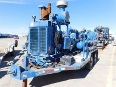 Located in YARD 2 - Odessa, TX (FPS025) (X) 2012 ORS CENT BOOST PUMP TRAILER, VIN-