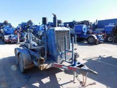 Located in YARD 2 - Odessa, TX (FUF067) MISSION 5X6 CENT PUMP, P/B DETROIT 4-71 DIESEL ENGINE, MTD