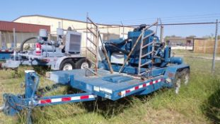 Located in YARD 19 - Wixon Valley, TX (CUF003) (X) 2012 AMERI TRAILER 7' X 16' T/A BP COMPRESSOR
