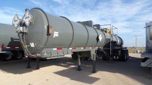 Located in YARD 1 - Midland, TX (X) 2013 OVERLAND TANK INC 120 BBL T/A ACID TRAILER, VIN-
