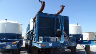 Located in YARD 19 - Wixon Valley, TX (CPF023) (X) 2005 KALYN SIEBERT T/A DBL PUMP CEMENT TRAILER,