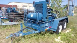 Located in YARD 19 - Wixon Valley, TX (W152) SHOPBUILT 6' X 12' T/A BP COMPRESSOR TRAILER, W/