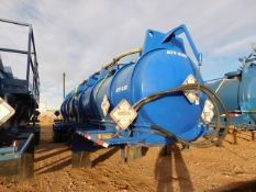 Located in YARD 2 - Odessa, TX (ATF030) (X) 2011 WORLEY MACHINE WORKS 5000 GAL (3) COMPARTMENT