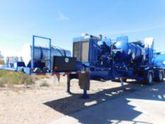 Located in YARD 2 - Odessa, TX (APF011) (X) 2013 OES SGL PUMP ACID FRAC SPREAD AXLE TRAILER, VIN-