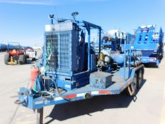 Located in YARD 2 - Odessa, TX (FPS032) (X) 2012 ORS CENT BOOST PUMP TRAILER, VIN- W/ MISSION MAGNUM