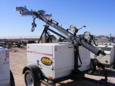 Located in YARD 1 - Midland, TX (1946) MAGNUM S/A 4 BULB LIGHT TOWER, VIN- 5AJLS1610BB014761, P/B