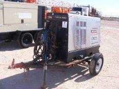 Located in YARD 1 - Midland, TX LINCOLN ELECTRIC VANTAGE 500 DIESEL WELDING MACHINE MRD ON S/A