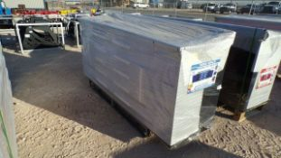 Located in YARD 1 - Midland, TX NEW STEELMAN 7' WORKBENCH W/ 10 DRAWERS & 2 CABINETS