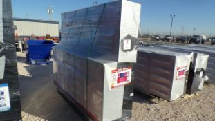 Located in YARD 1 - Midland, TX NEW STEELMAN 7' WORK BENCH W/ 18 DRAWERS