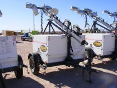 Located in YARD 1 - Midland, TX (1944) MAGNUM S/A 4 BULB LIGHT TOWER, VIN- 5AJLS1612BB014759, P/B
