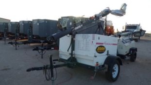 Located in YARD 1 - Midland, TX (2803) 2012 MAGNUM MLT5060K S/A LIGHT TOWER, SN- 1114756, P/B 3