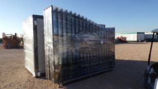 Located in YARD 1 - Midland, TX NEW 20' BI PARTING WROUGHT IRON GATE