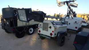 Located in YARD 1 - Midland, TX (2804) 2014 TEREX RL4 S/A 6KW LIGHT TOWER, SN- RL41410241, P/B 3 CYL