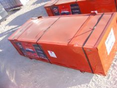 Located in YARD 1 - Midland, TX UNUSED 20' X 40' X 6.5' DOME CONTAINER STORAGE SHELTER