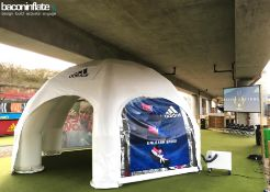 6m EventStation HP Inflatable Structure with Canopy System (2 Bags) (Stock No's; BiES 06/34 & BiES