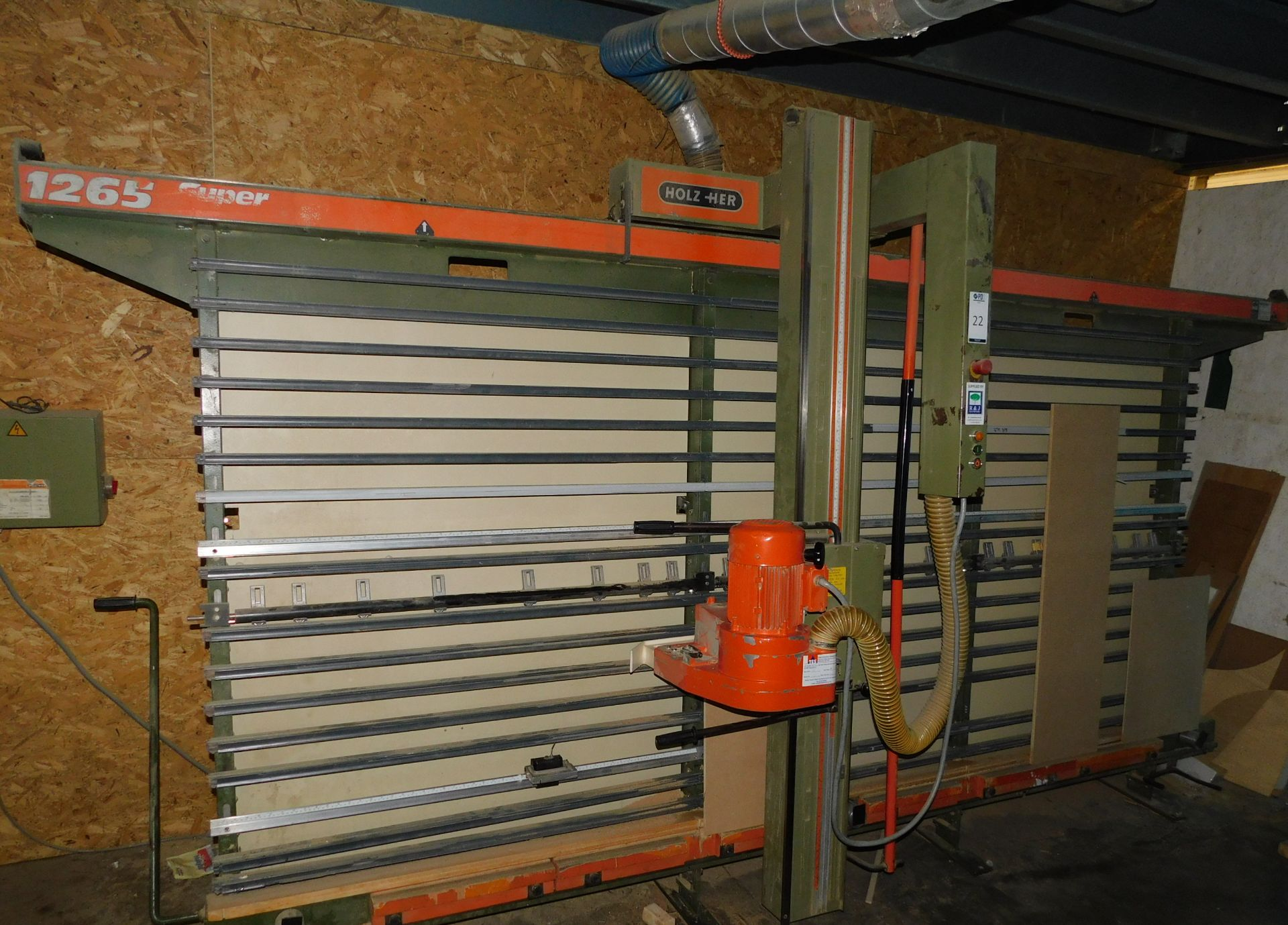 Lot 22 - HolzHer 1265 Wall Saw (Located Huntingdon, See General Notes for More Details)