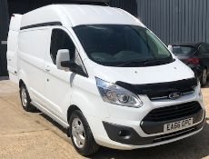 Ford Transit Custom 310 L1 Diesel FWD 2.0 TDCi 130ps Low Roof D/Cab Limited Van, Registration EA66