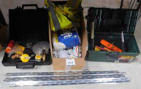 Gripperrods, Quantity of Hand Tools & Miscellaneous Items (Located Brentwood, See General Notes