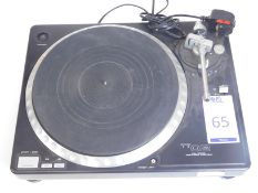 Gemini TT02 Direct Drive Turntable, s/n; GT6101395 (Located Brentwood, See General Notes for More