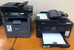 Brother MFC-L5750W Wi-Fi Printer & Brother MFC-J5335 (Located Brentwood, See General Notes for