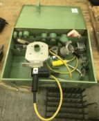 Ritmo R125Q TFE Plastic Pipe Welder & Hardcase (Located Northampton, See General Notes for More